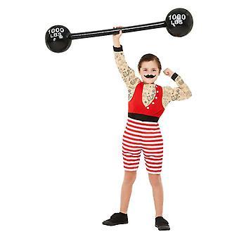 Niños años 1920 circo Strongman disfraces infantiles