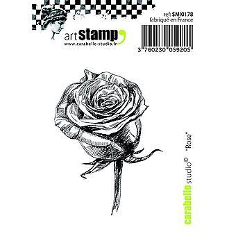 "Carabelle Studio ""Pink"" Cling Stamp, White/Transparent, Mini"