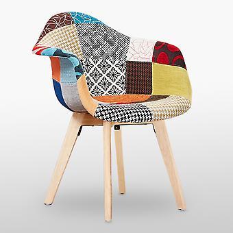 Tulipan Patchwork Tub Krzesło
