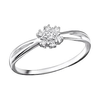 Star - en argent Sterling 925 empierré anneaux - W26305X