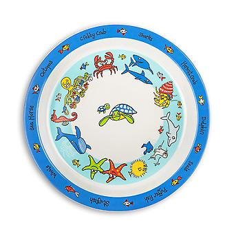 Tyrrell Katz Ocean Design Melamine Plate