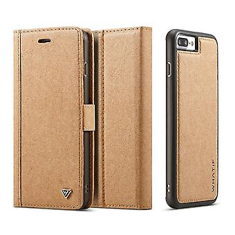 Etui Pour Iphone 8 / 7 Porte-cartes Marron