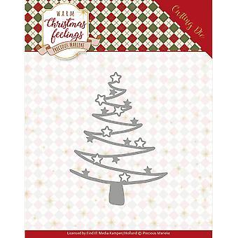 Vind het handelen kostbare Marieke sterven-ster boom, warme kerst gevoelens
