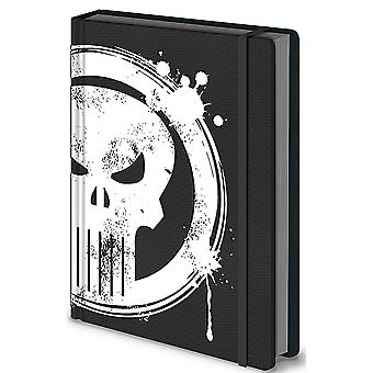 Punisher Notebook Punisher Skull new Official Marvel Black Premium A5
