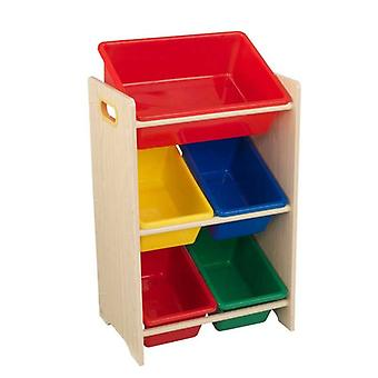 KidKraft Game of Role Rack with 5 Containers