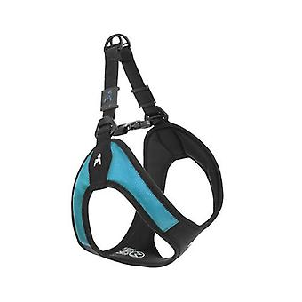 Gooby Escape Free Easy Fit Dog Harness Turquoise - Large