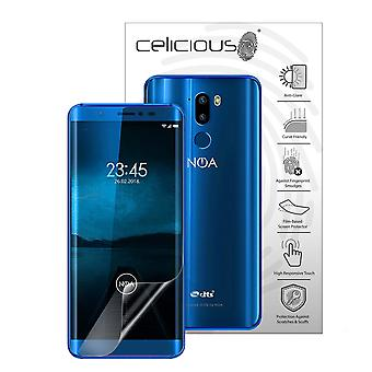 Celicious Matte Flex Anti-Glare 3D Screen Protector Film Compatible with NOA Element N7 [Pack of 3]