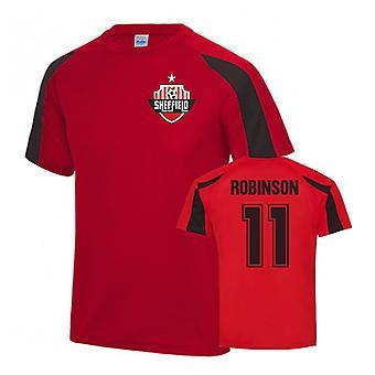 Callum Robinson Sheffield United Sports Training Jersey (punainen)