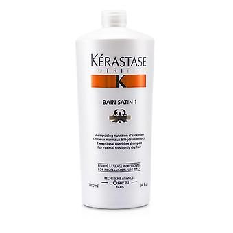 Kerastase Nutritive Bain Satin 1 Exceptional Nutrition Shampoo (for Normal To Slightly Dry Hair) - 1000ml/34oz