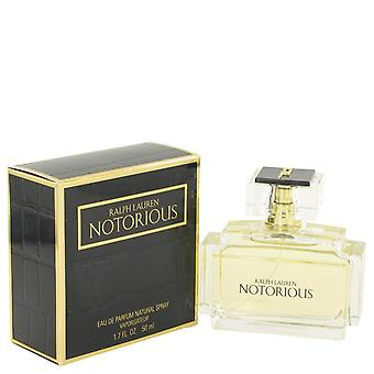 Notorious eau de parfum spray por ralph lauren 457415 50 ml