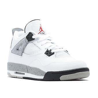 Air Jordan 4 Retro Og Bg (Gs) 'White Cement' - 836016-192 - Shoes