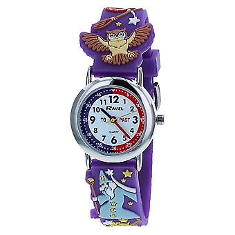 Ravel Time Teacher 3D Magical Wizard Strap Watch + Telling Time Award R1513.77