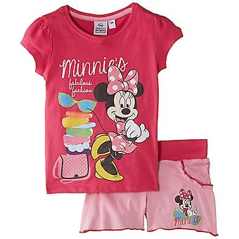 Ragazze Disney Minnie Mouse estate t-shirt & Shorts Set
