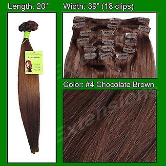 #4 suklaa ruskea-20 tuumaa Remi