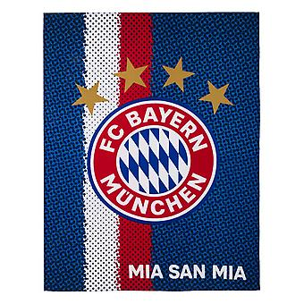 FC Bayern Munich Crest Fleece Blanket