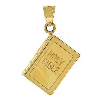 10k Gold Dc Unisex Try God Height 17.8mm X Width 12.3mm Religious Charm Pendant