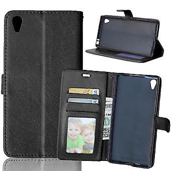 Sony Xperia Z5 Premium Wallet Case - Zwart