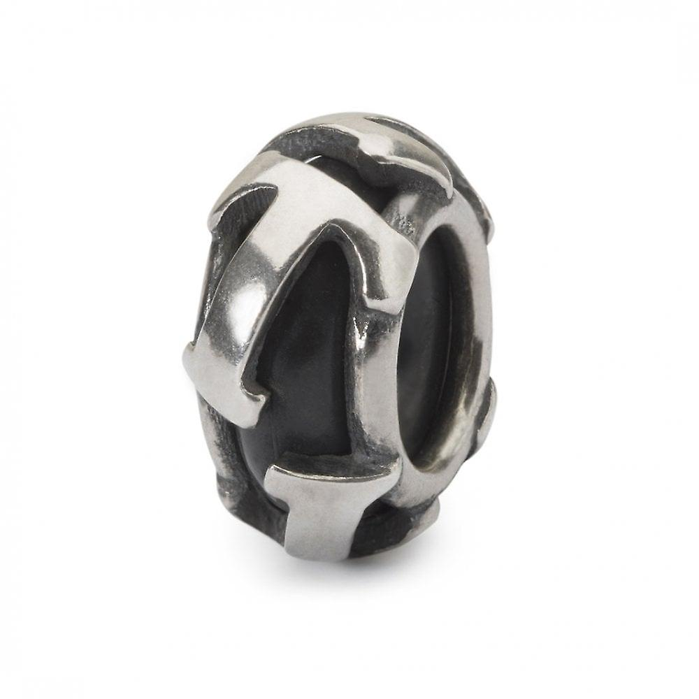 Trollbeads Letter T Silver Spacer
