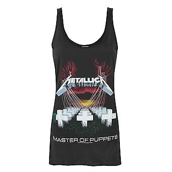 Amplified Metallica Master Of Puppets Women's Band Vest
