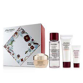 Benefiance WrinkleResist24 Set : Day Cream SPF15 50ml+Cleansing Foam 15ml+Sharder 30ml+Ultimune Concentrate 5ml 4pcs