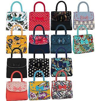 Ruby Shoo Women's Santiago Fabric Top Handle Bag