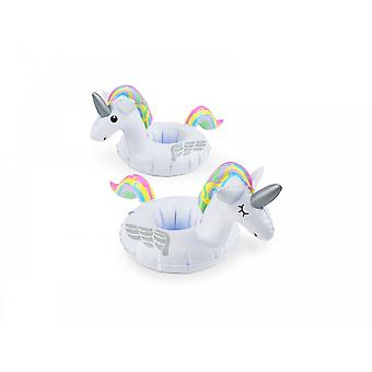 BigMouth Inc. Unicorn Pastel Inflatable Beverage Boats