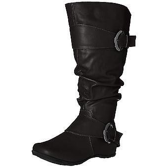 Brinley Co naisten Pariisi-aukiolle Toe polvisukat muoti kengät