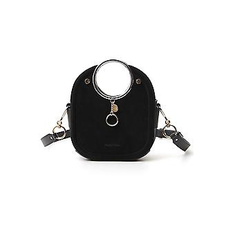 See By Chloé Chs20ssa51566001 Women's Black Leather Handbag