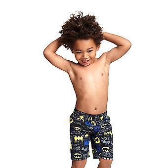 Zoggs Boys' Batman Water Shorts Trunks - Negro