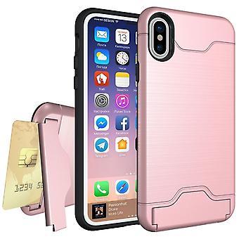 iPhone X - Stødsikker kort lommeskal