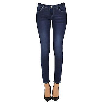 Brian Dales Ezgl250011 Women's Blue Cotton Jeans