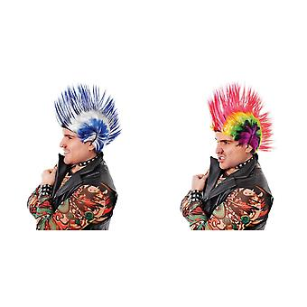 Bristol Novelty Mens Mohican Wig