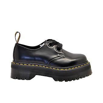 Dr. Martens Hollyblackbuttero Women-apos;s Black Leather Lace-up Chaussures