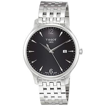 Tissot Tradition Stainless Steel Mens Watch T0636101105700