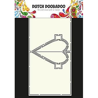 Dutch Doobadoo Dutch Card Art Heart Pop Up 470.713.655 A4
