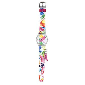 Barbie MultiColour Charm Girls Fashion Watch 25092