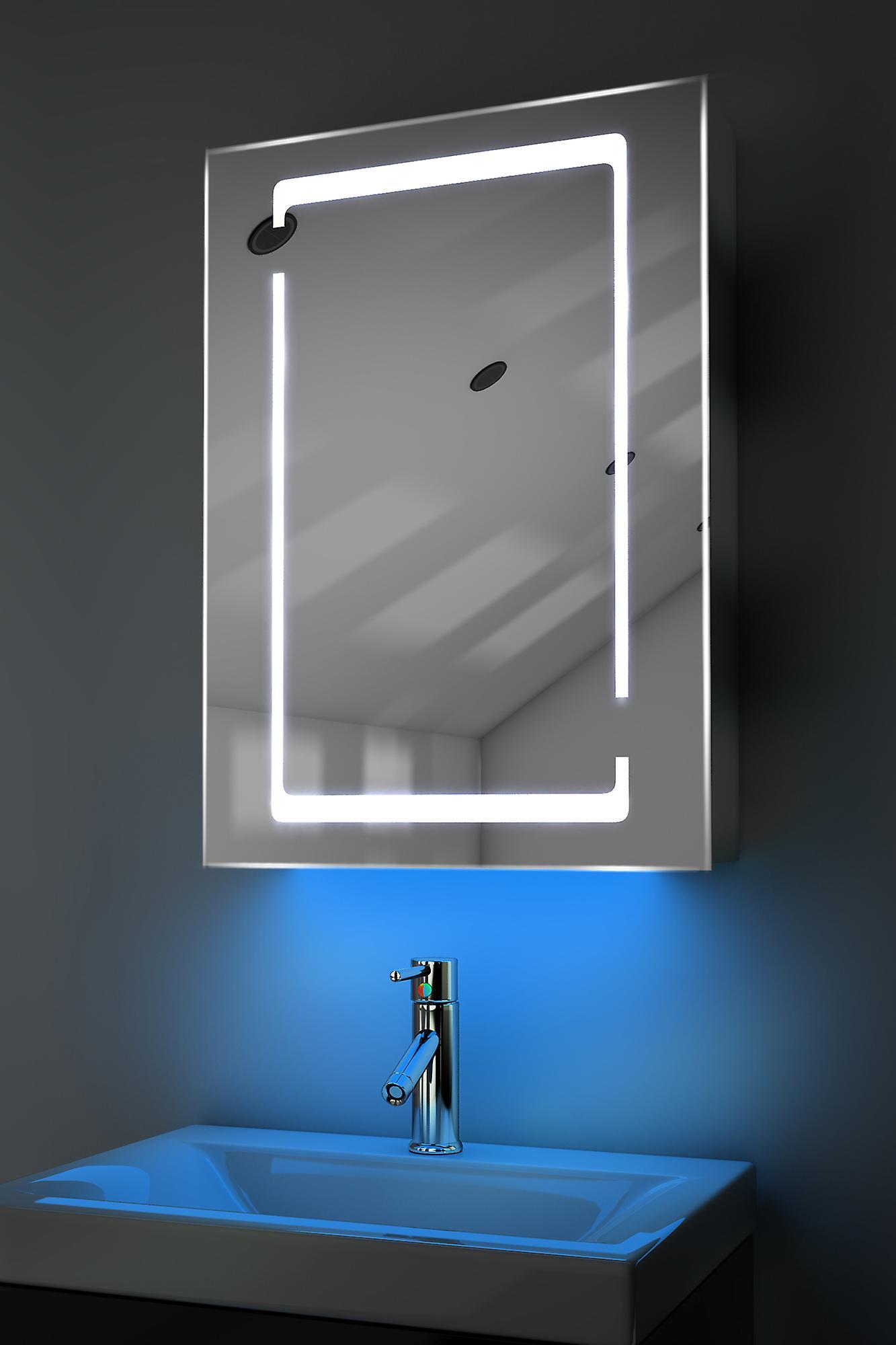 Armoire avec RGB, capteur & interne rasoir k356rgb de désembuage