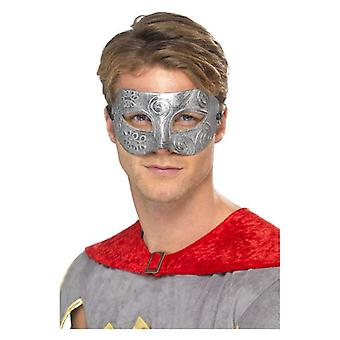 Metallische Krieger Colombina Eyemask