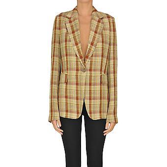 Acne Studios Ezgl151050 Damen's Beige Acetat Blazer