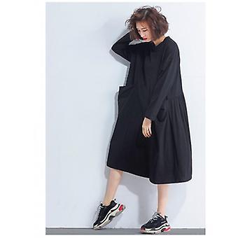 Big Pockets Oversized Confortable Dresses