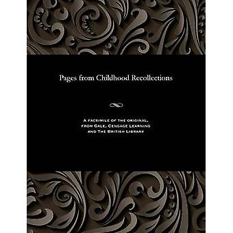Pages from Childhood Recollections by Avenarius & Vasily Pertovich