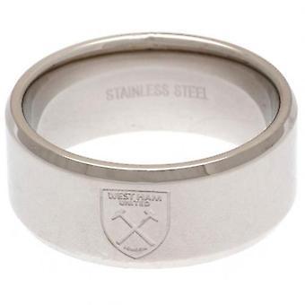 West Ham United Band Ring Medium