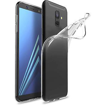 FONU Siliconen Backcase Hoesje Samsung Galaxy J6 (SM-J600) - Transparant