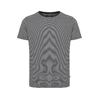 Jermane Black Striped T-Shirt