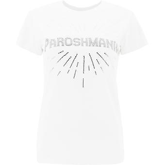P.a.r.o.s.h. D110612801 Women's White Cotton T-shirt