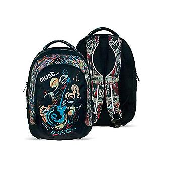 Diakakis backpack 000579285 must Guitar 4 pockets 46_32_25 - multicolored