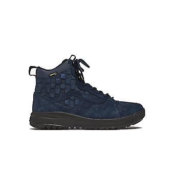 Vans Ezcr011009 Men's Blue Suede Hi Top Sneakers