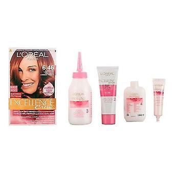 Permanent Dye Excellence L'Oréal Make Up Blond cuivré foncé auburn