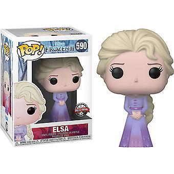 Frozen II Elsa Intro US Exclusive Pop! Vinyl