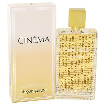 Cinema Eau De Toilette Spray By Yves Saint Laurent 3 oz Eau De Toilette Spray